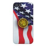 Bandera americana iPhone 5 cárcasas