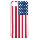 Bandera americana iPhone 5 protectores