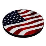 Bandera americana juego de fichas de póquer