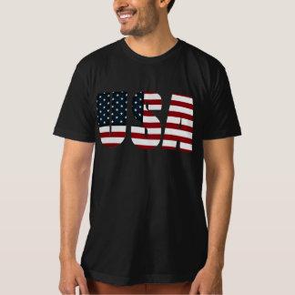 bandera americana los E.E.U.U. Playeras