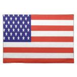 Bandera americana mantel