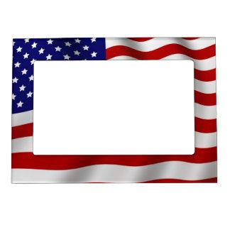Bandera americana foto de imanes