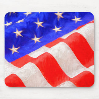 Bandera americana Mousepad