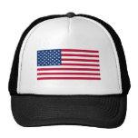 Bandera americana oficial gorros bordados