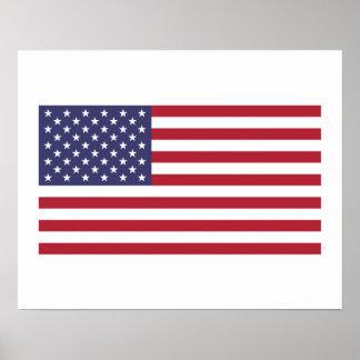 Bandera americana poster