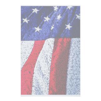 Bandera americana  papeleria