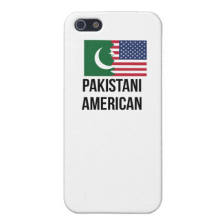Bandera americana paquistaní iPhone 5 fundas