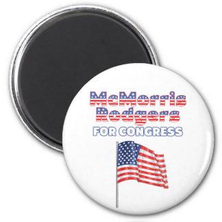 Bandera americana patriótica del congreso de McMor Iman Para Frigorífico