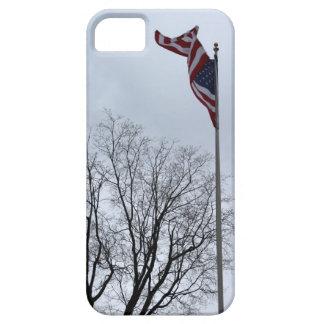 Bandera americana patriótica iPhone 5 Case-Mate cárcasas