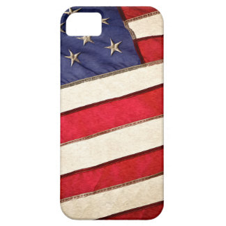 Bandera americana patriótica funda para iPhone 5 barely there