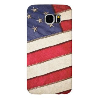 Bandera americana patriótica fundas samsung galaxy s6