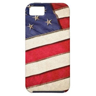 Bandera americana patriótica iPhone 5 fundas