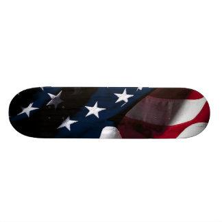 Bandera americana patriótica skateboards