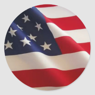 Bandera americana pegatinas