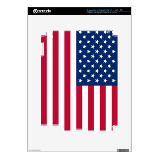 Bandera americana pegatinas skins para iPad 3