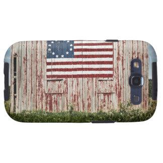 Bandera americana pintada en granero galaxy SIII protectores