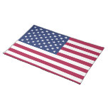 Bandera americana Placemat Manteles Individuales