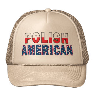 Bandera americana polaca gorros