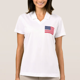 Bandera americana polos