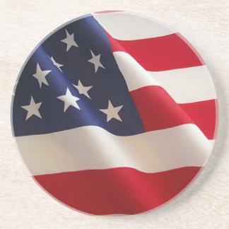 Bandera americana posavasos manualidades