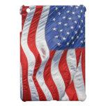 Bandera americana que agita iPad mini cobertura