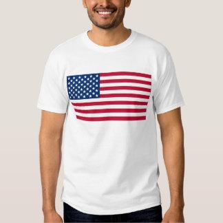 Bandera americana remera