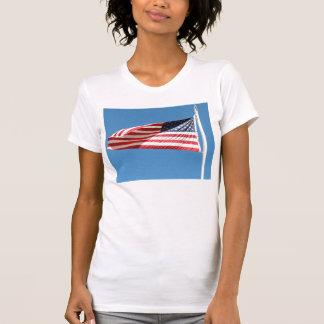 Bandera americana remeras