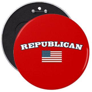 Bandera americana republicana pins
