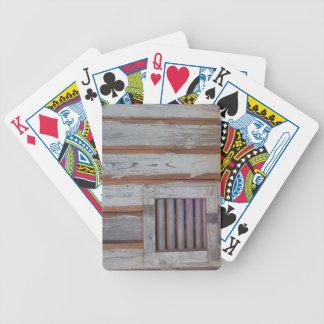 Bandera americana rústica baraja cartas de poker
