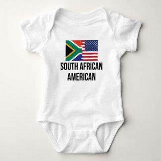 Bandera americana surafricana body para bebé
