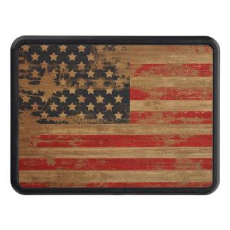 Bandera americana tapa de remolque