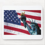 bandera americana tapete de raton
