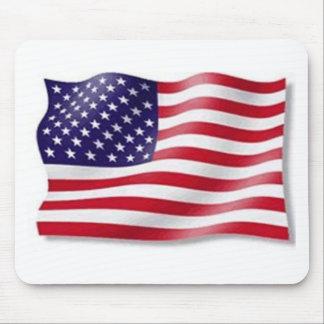 Bandera americana tapete de ratones