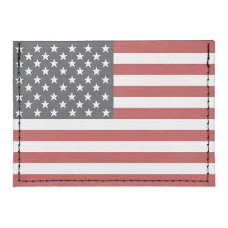 Bandera americana tarjeteros tyvek®