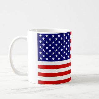 Bandera americana taza