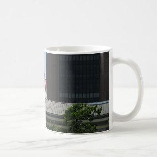 Bandera americana taza de café