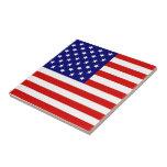 Bandera americana tejas  cerámicas