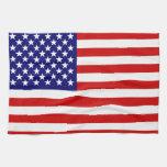 Bandera americana toallas de mano