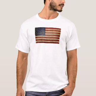 Bandera americana vieja playera