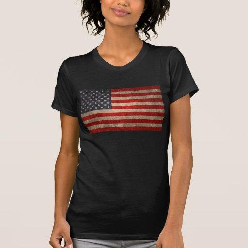 Bandera americana - xdist camiseta