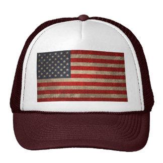 Bandera americana - xdist gorro de camionero