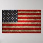 Bandera americana - xdist poster