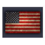 Bandera americana - xdist tarjetas postales