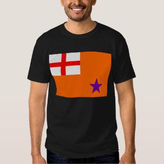 Bandera anaranjada de la orden playeras
