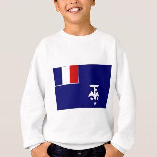 Bandera antártica meridional francesa de las poleras