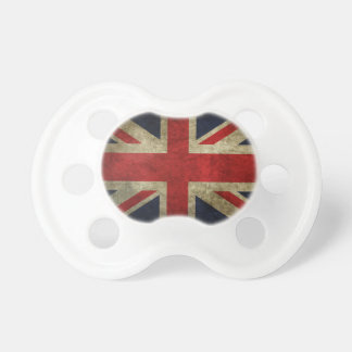 Bandera antigua real británica de Union Jack Chupetes