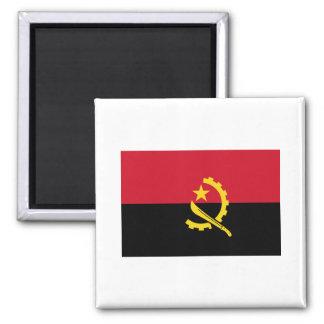Bandera AO de Angola Imán De Frigorífico