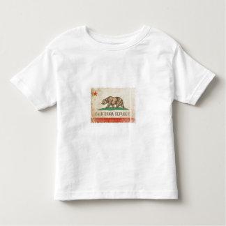 Bandera apenada camiseta fresca del niño de playera
