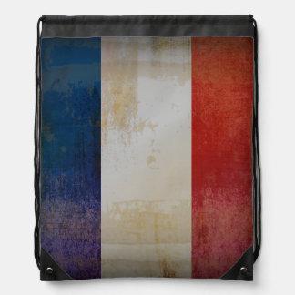 Bandera apenada de Francia