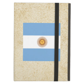 Bandera apenada de la Argentina